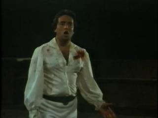 """Jose Carreras- """"E lucevan le stelle""""(���� �����������) Tosca 1977."""